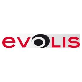 R2013 - Nastro Monocromatico Rosso Stampa 1000 card a rotolo - per Evolis Pebble e Dualys