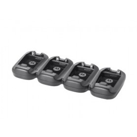 SAC2100-4000CR - Caricabatterie a 4 posizioni per Motorola MC2100