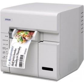 C31CA84021 - Stampante Epson TM-C610 USB Taglierina Automatica per Stampa Etichette a Colori