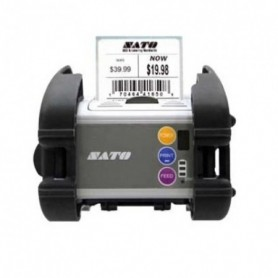 WWMB29070 - Stampante Portatile Sato MB200i Industrial Version 203 Dpi, Bluetooth RS232C IrDA, Largh. di Stampa 48mm