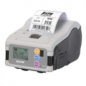 WWMB22081 - Stampante Portatile Sato MB200i Industrial Version 203 Dpi, Wi-fi RS232C IrDA, w/Display, Largh. di Stampa 48mm