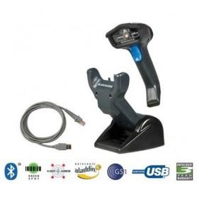 GBT4430-BK-BTK1 - Datalogic Gryphon GBT4400 2D Standard Range Black Kit con Culla e Cavo Usb
