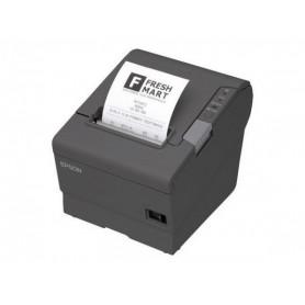 C31CA85041 - Stampante Termica Epson TM-T88V USB e Seriale Dark Grey - Taglierina Automatica - Alimentatore Non Incluso
