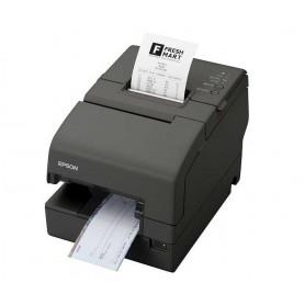 C31CB25024 - Stampante Epson TM-H6000IV USB e Seriale, Epson Dark Grey - MICR, E/P, convalide - Alimentatore non incluso