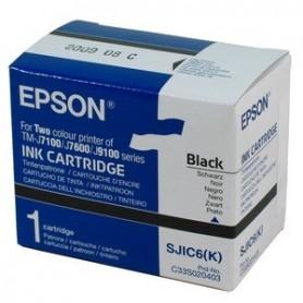 C33S020403 - SJIC6 Cartuccia Nero per Epson TM-J7100/J7600