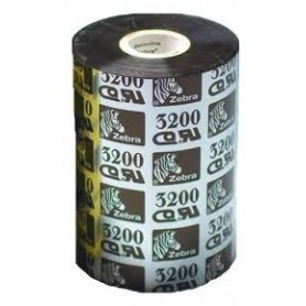 03200BK11045 - Ribbon Zebra F.to 110mmX450MT WAX/RESIN High Quality - Confezione da 6 Rotoli