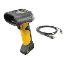 DS3508-HDAU0200ZR - Motorola DS3508 2D Imager, High Density Focus, Image Capture, Yellow/Black - Kit Completo di Cavo USB
