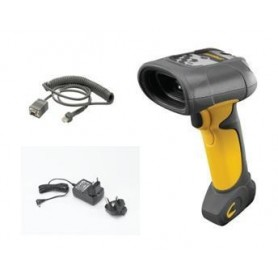 DS3508-SRAR0200IR - Motorola DS3508 1D e 2D Imager, Standard Range, Yellow/Black - Kit completo di Cavo RS232 e Alimentatore