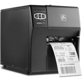 ZT22042-T0EC00FZ - Stampante Zebra ZT220 203 Dpi, TT/DT, Usb, Seriale e Wi-fi - Max Size Ribbon 300MT