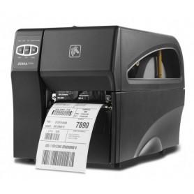 ZT22042-T1E200FZ - Stampante Zebra ZT220 203 Dpi, TT/DT, Usb, Ethernet e Seriale - Max Size Ribbon 300MT - con Spellicolatore