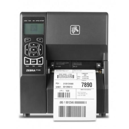 ZT23042-T0E200FZ - Stampante Zebra ZT230 203 Dpi, TT/DT, Usb, Ethernet e Seriale - Max Size Ribbon 450MT