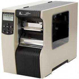 116-80E-00204 - Zebra 110 Xi4 600 Dpi, Ethernet 10/100, USB, Seriale e Parallela - con Spellicolatore e Riavvolgitore Interno