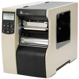 140-80E-00213 - Zebra 140 Xi4 Ethernet 10/100, USB, Seriale e Parallela, Flash 64MB, Spellicolatore e Riavvolgitore Interno