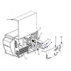 G20001M - Ribbon Spindle Take-Up Clutch Kit per Stampante Zebra S4M