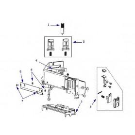 HW78809 - Screw M3 X 0.5 X 6 per Stampante Zebra S4M - Confezione da 25 Pezzi