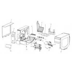 G77695M - Kit Electronic Cover per Stampante ZxM+ Series
