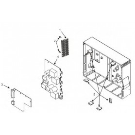 34901-012M - Kit Main Logic Board 64MB per Stampante Zebra ZxM+ Series