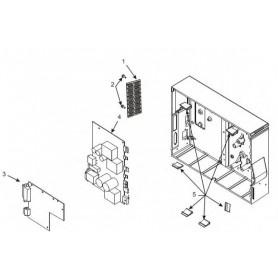 G77150M - Kit Power Supply w/ground wire per Stampante Zebra ZxM+ Series