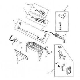 G77935M - Kit Outer Media Guide per Stampante Zebra ZxM+ Series