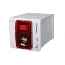 ZN1U0000RS - Stampante di Card Evolis Zenius Classic USB, Rosso Fuoco