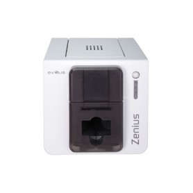 ZN1H0000TS - Stampante di Card Evolis Zenius Expert USB/Ethernet, Grigio Bruno