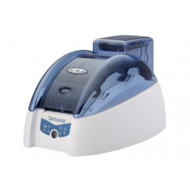 TTR201BBH - Stampante di Card Evolis Tattoo RW Basic, USB & Ethernet, Blu Brillante, Monocromatico (Blu o Nero)