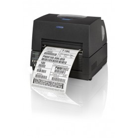 1000836 - Citizen CL-S6621 203 Dpi, USB/RS232, DMX e ZPL - Larghezza Massima di Stampa 168mm