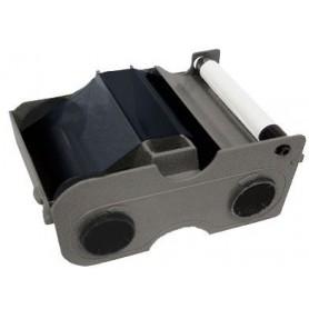 45101 - Nastro Premium Black / Nero 1000 Immagini, con rullo di pulizia per Stampante Fargo DTC1000 e DTC4000