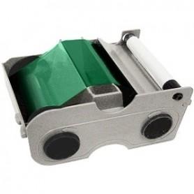 45104 - Nastro Monocromatico Verde 1000 Immagini, con rullo di pulizia per Stampante Fargo DTC1000 e DTC4000