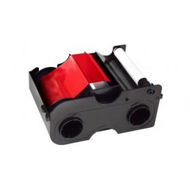 45105 - Nastro Monocromatico Rosso 1000 Immagini, con rullo di pulizia per Stampante Fargo DTC1000 e DTC4000