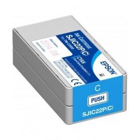 C33S020602 - SJIC22P(C) Cartuccia Ciano per Epson TM-C3500