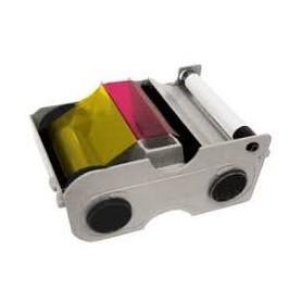 44200 - Cartuccia colori 5 pannelli YMCKO con rullo di pulizia 250 immagini per Stampanti Fargo C30e & DTC300