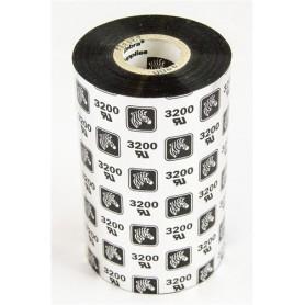 03200BK11030 - Ribbon Zebra F.to 110mmX300MT Cera/Resina - Confezione da 6 Rotoli