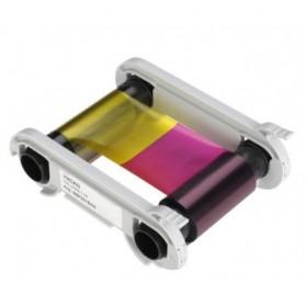 R5F002EAA - Nastro colore a 5 panelli – YMCKO Stampa 200 card a rotolo - per Evolis Zenius e Primacy