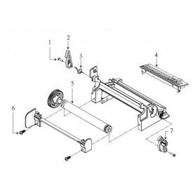 98-0240030-00LF - Rullo di Trascinamento per Stampanti TSC TTP-2410M e TTP-246M