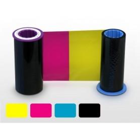 800012-445 - Ribbon a Colori 4 Pannelli YMCK per Stampante Zebra ZXP Serie 8 - True Colours Ribbon - 625 Stampe