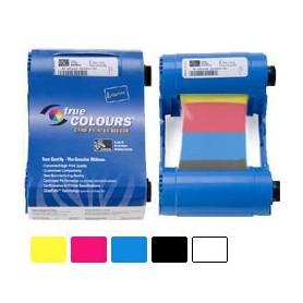 800017-240 - Ribbon a Colori 5 Pannelli YMCKO per Stampanti Zebra P110 e P120 - 200 Stampe