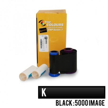 800077-711EM - Ribbon Monocromatico Nero per Stampanti Zebra ZXP Serie 7 - 5000 Stampe