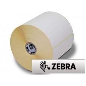 800274-505 - Etichette Zebra F.to 102x127mm Carta Vellum Ad. Permanente D.i. 25mm - con Strappo facilitato - Conf. da 12 Rotoli