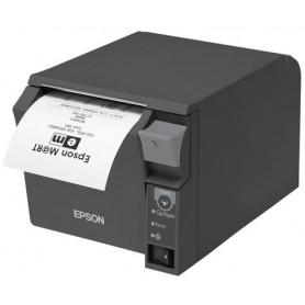 C31CD38024C0 - Stampante Termica Epson TM-T70II - USB & Ethernet - Epson Dark Gray - Taglierina Automatica