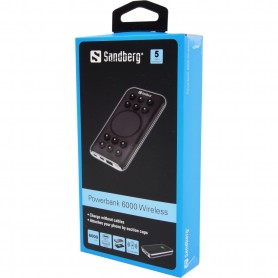 420-37 - Sandberg Powerbank 6000 Wireless + USBC