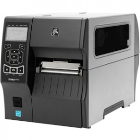 ZT41043-T4E0000Z - Stampante Zebra ZT410, 300 Dpi, TT/DT, USB/LAN/BT - Riavvolgitore Interno - Include Peel