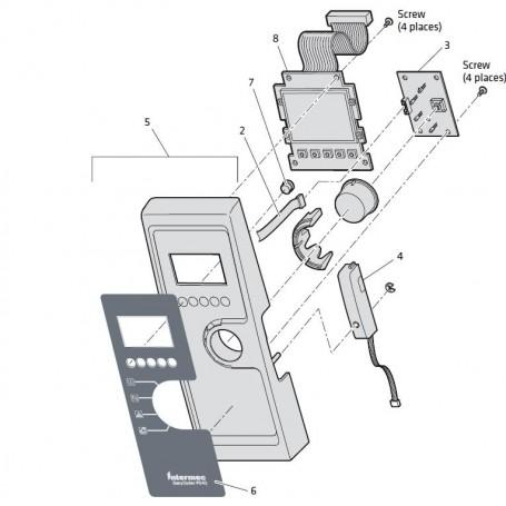 1-207132-001 - Kit Display per Stampante Intermec PD42