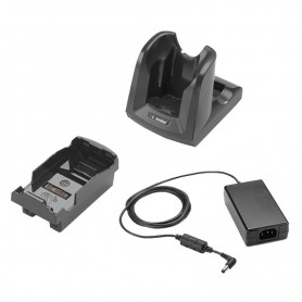 CRD-MC32-100INT-01 - Culla Singola Ricarica e Comunicazione USB/RS232 per Zebra Motorola MC32N0 - Include Alimentatore