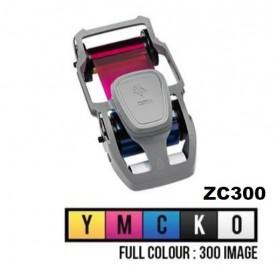 800300-550EM - Ribbon Colore YMCKO per Stampante Zebra ZC300 - 3000 Stampe