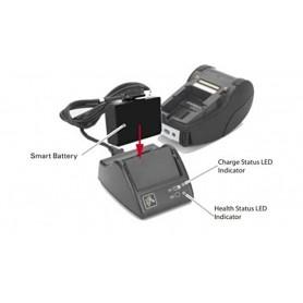 P1031365-065 - Zebra Caricabatterie per QLn220, QLn320, QLn420, QLn220 HC, QLn320 HC, ZQ510, ZQ520, P4T