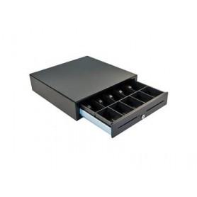 JD520-BL1816-M1 - S4000 Cassetto Registratore di Cassa, 24V/12V, Nero, Acciaio, 457 x 424 x 107mm
