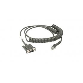 CBA-R49-C09ZAR - Motorola Cavo Seriale RS232 9 Pin Femmina, Spiralato, Power: Pin 9, TxD: Pin 2