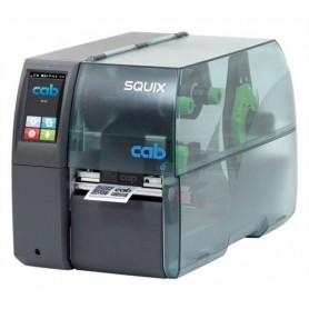 5977010 - Stampante CAB SQUIX 4 M 300 Dpi, Touchscreen, Trasferimento Termico, USB, Seriale & Scheda di Rete