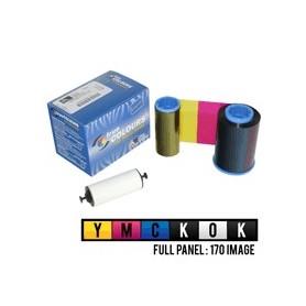800015-448 - Ribbon a Colori YMCKOK per Stampante Zebra P430i - 170 Stampe
